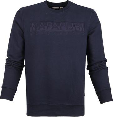 Napapijri Berber Sweater Dunkelblau