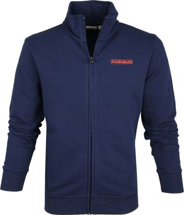 Napapijri Bolanus Sweat Jacket Navy