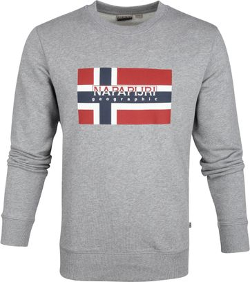 Napapijri Bovico Sweater Grau