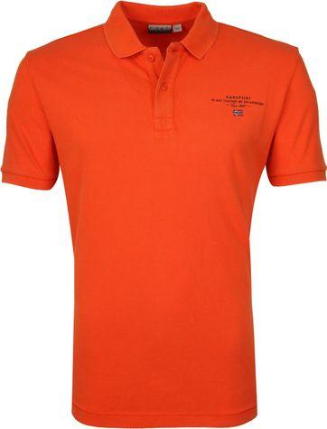 Napapijri Polo Elbas 3 Oranje