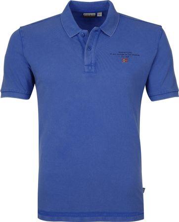 Napapijri Poloshirt Elbas 3 Blue