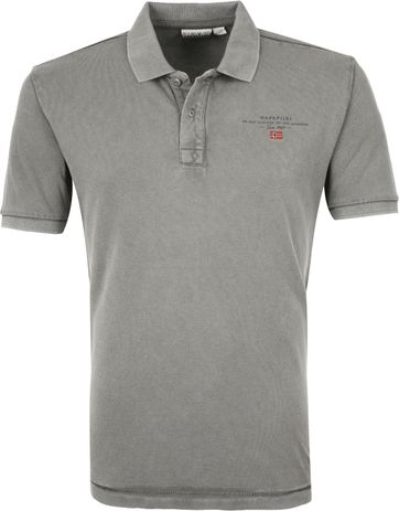 Napapijri Poloshirt Elbas 3 Grau