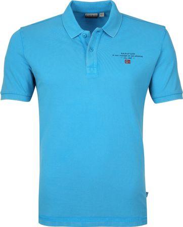 Napapijri Poloshirt Elbas 3 Turquoise