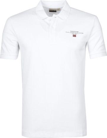 Napapijri Poloshirt Elbas 3 White