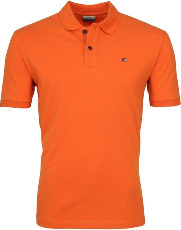 Napapijri Poloshirt Elios Orange