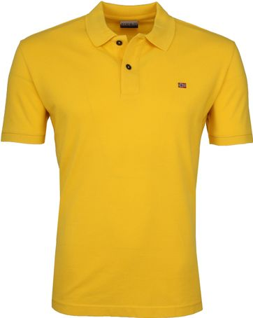 Napapijri Poloshirt Elios Yellow