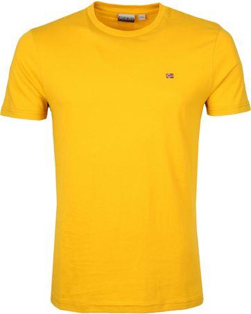 Napapijri Selios T-shirt Geel