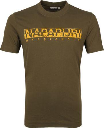Napapijri Solanos T-shirt Dunkelgrün