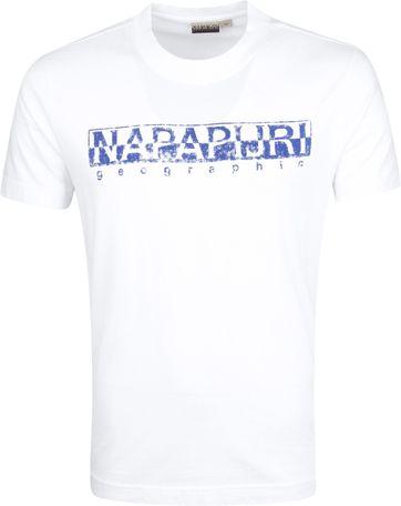 Napapijri Solanos T-shirt Wit