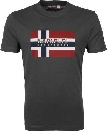 Napapijri Sovico T-Shirt Dunkelgrau