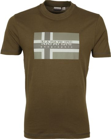 Napapijri Sovico T-shirt Dunkelgrün