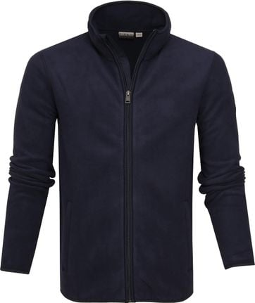 Napapijri Toko Fleece Jacket Navy