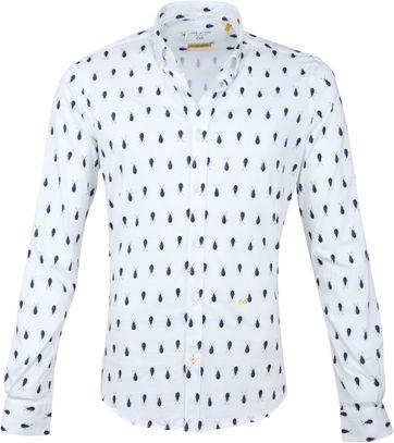 New In Town Hemd Käfer Weiß