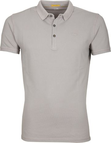 New In Town Polo Uni Grey