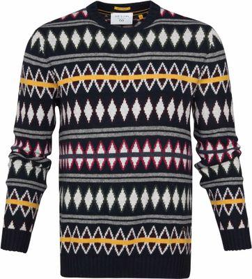 New In Town Pullover Multicolour Dessin