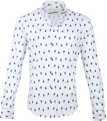 New In Town Shirt White Beetle