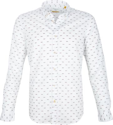 New In Town Shirt White Pattern