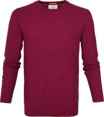New In Town Sweater Berry Red