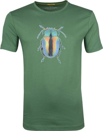 New In Town T-Shirt Insect Green