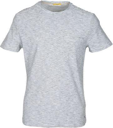New in Town T-shirt Schwarz Weiß Streifen
