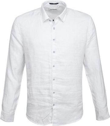 No-Excess Leinen Hemd Weiß