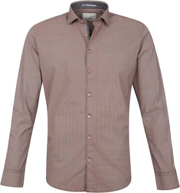 No-Excess Overhemd Dessin Oranje