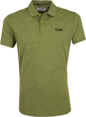 No-Excess Poloshirt Lime Groen