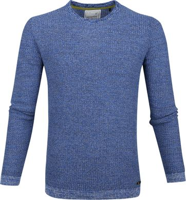 No-Excess Pullover Blend Blue