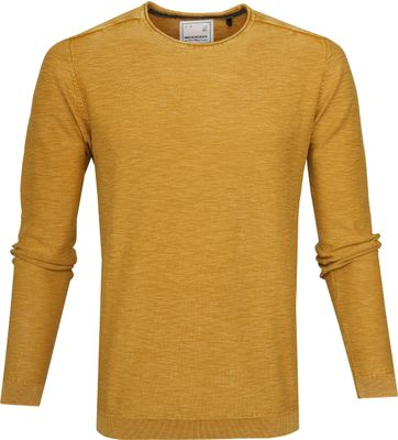 No-Excess Pullover Ocre Gelb