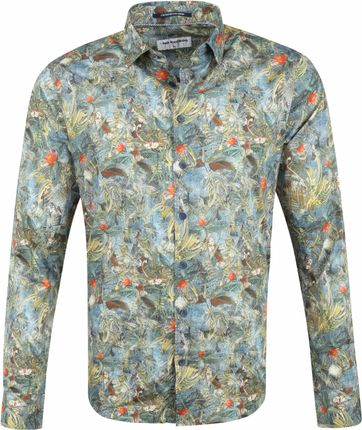 No-Excess Shirt Print Tropical