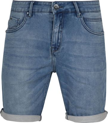 No-Excess Short Bleach Denim