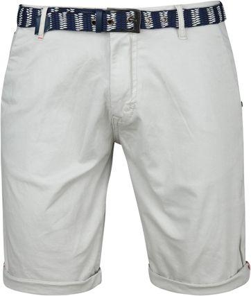 No-Excess Shorts Twill Grijs