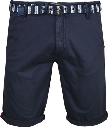 No-Excess Shorts Twill Navy