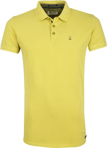 No-Excess Stretch Poloshirt Lime