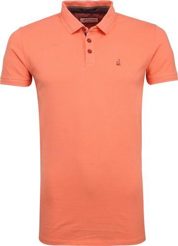 No Excess Stretch Poloshirt Oranje
