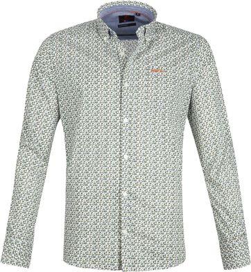 NZA Casual Overhemd Hamilton Groen