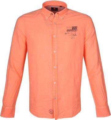 NZA Hemd Rakaia Neon Orange