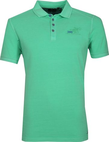 NZA Oakura Poloshirt Neon Groen