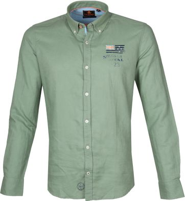 NZA Overhemd Rakaia Groen