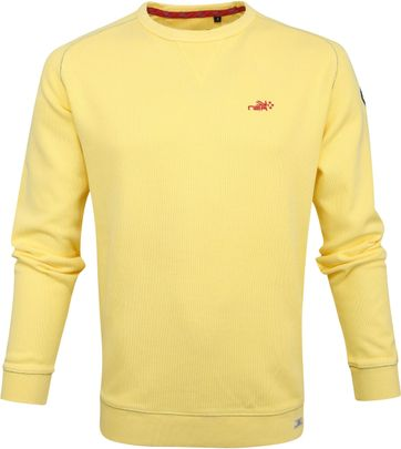 NZA Pararoa Sweater Yellow