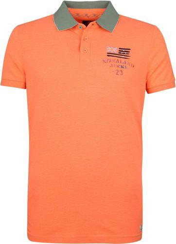 NZA Saxton Poloshirt Neon Oranje