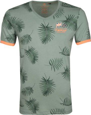 NZA Tairutu T-shirt Grün