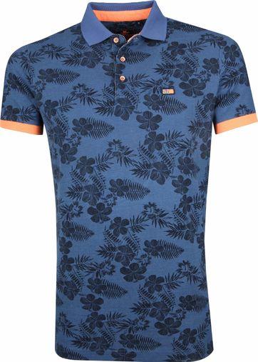 NZA Tauhoa Poloshirt Donkerblauw