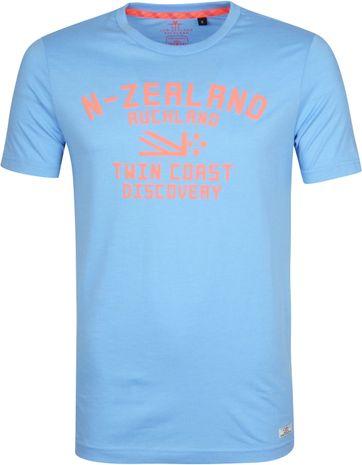 NZA Tauranga T-Shirt Lichtblauw