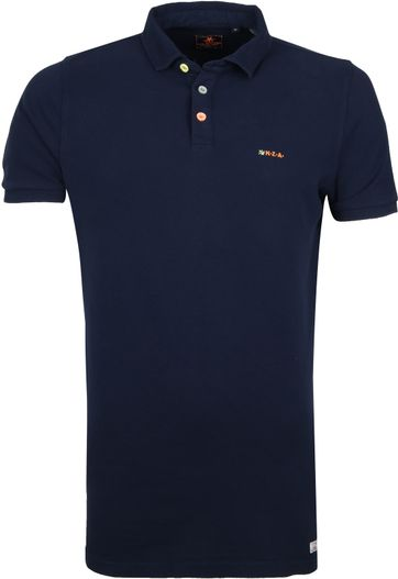 NZA Waiapu Poloshirt Dark Blue