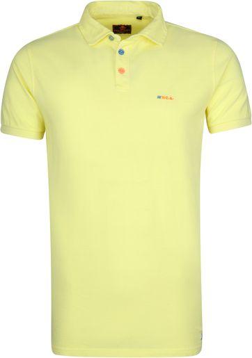NZA Waiapu Poloshirt Yellow