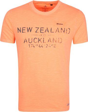NZA Waiaua T-shirt Oranje