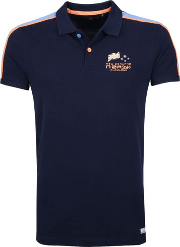 NZA Waiho Poloshirt Dark Blue