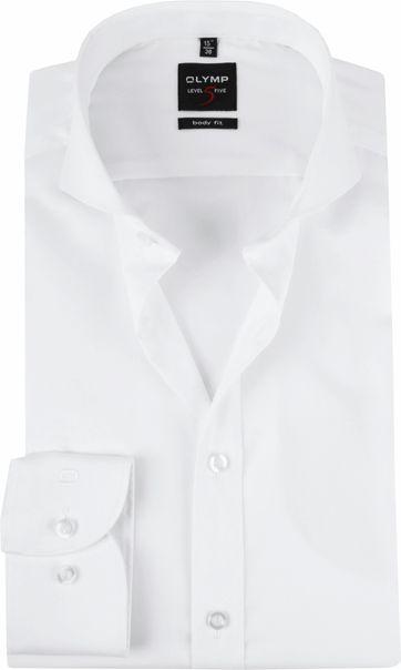 OLYMP Hemd Level 5 Weiß BF