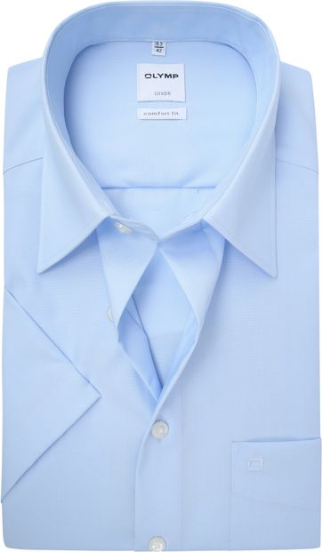OLYMP Luxor Hemd Comfort Fit Hellblau
